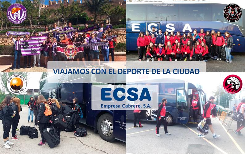 El deporte en Valladolid viaja con ECSA