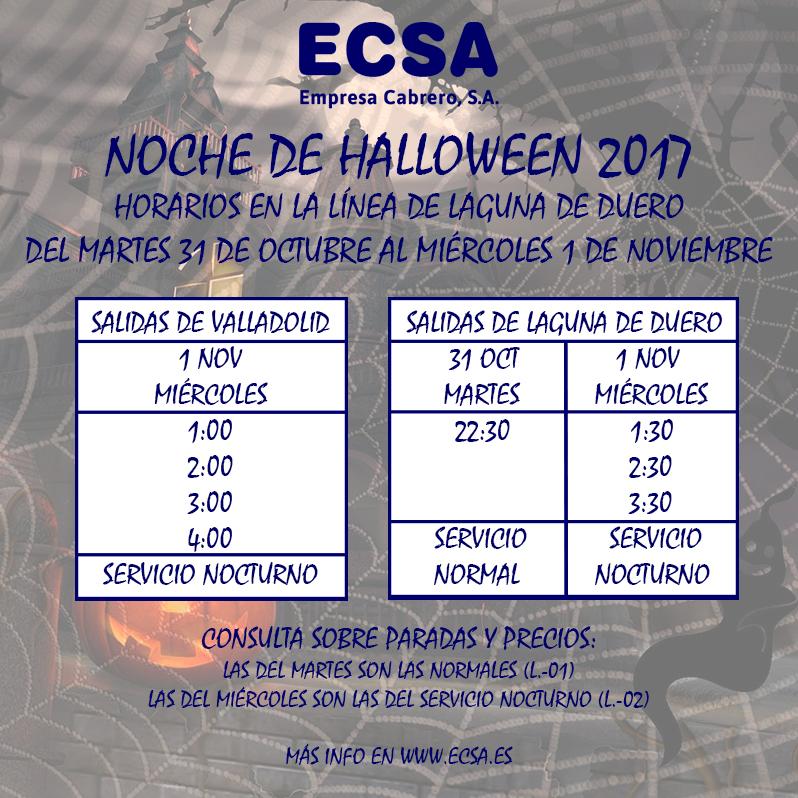 Halloween 2017 Laguna de Duero