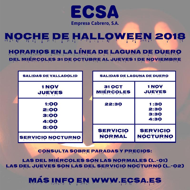 Halloween 2018 Laguna de Duero