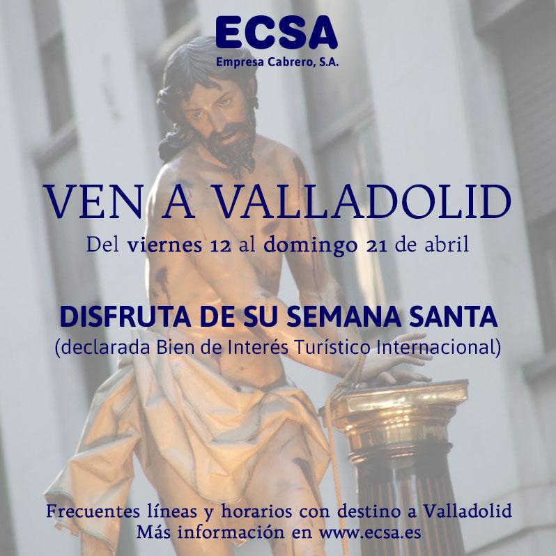ven a Valladolid Semana Santa 2019
